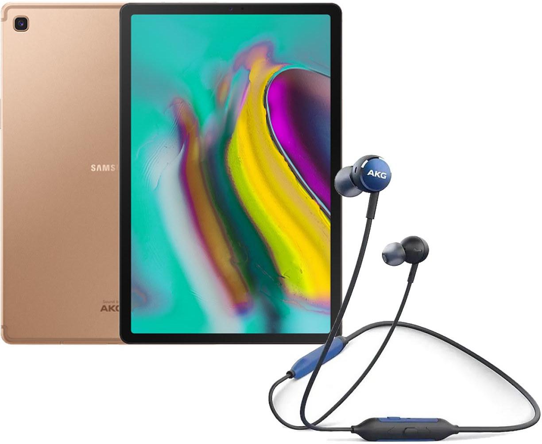 """Планшет Samsung Galaxy Tab S5e 10.5"""" LTE 4Gb 64Gb Gold + AKG Y100 Wireless Blue ㋛ ❄️"""