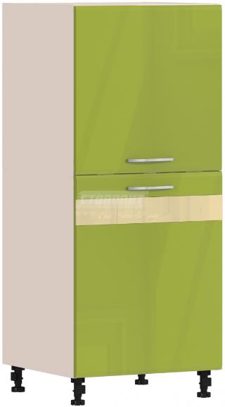 Пенал Столплит Регина 331-460-360-5368 песочный/оливковый 60x142x56 см