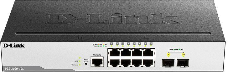 Коммутатор D-Link DGS-3000-10L/B1A