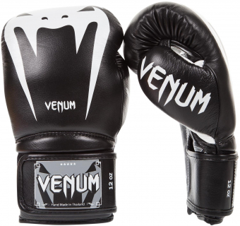Перчатки Venum Giant 3.0 Black Nappa Leather