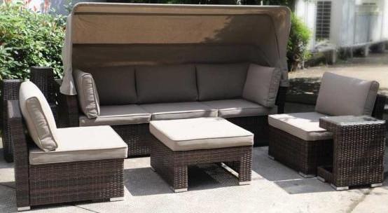 Диван Афина-Мебель AFM-320 серый