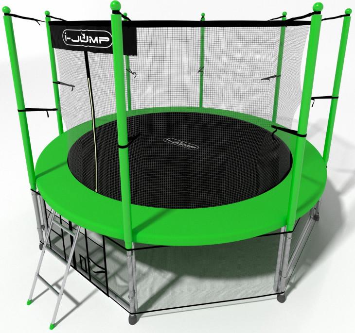 Батут i-Jump 10FT Green (с внутренней и…