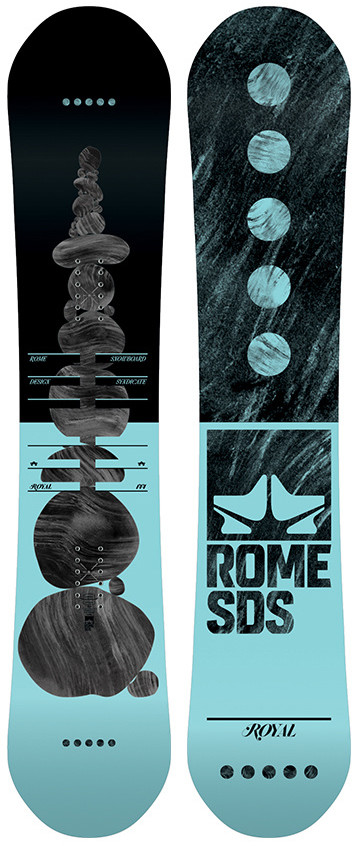 Сноуборд Rome Royal (2019) 144 см
