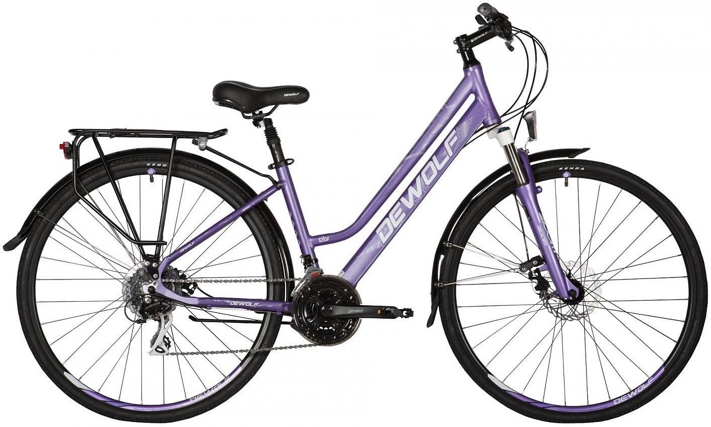 """Велосипед Dewolf Asphalt F3 фиолетовый 28"""""""