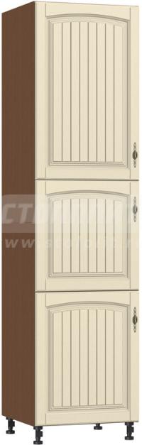 Пенал Столплит Регина 331-360-360-7049 орех мария луиза/вишня патина 60x237x56 см
