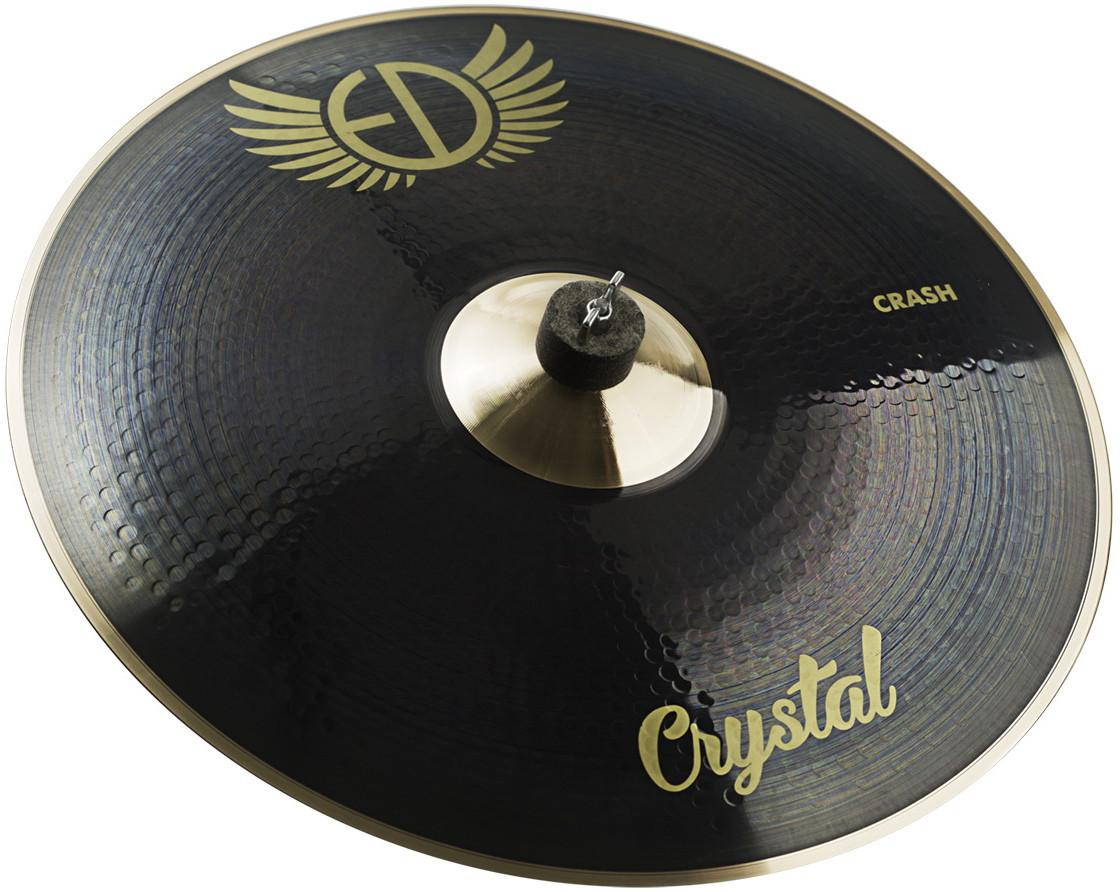 "EDCymbals Crash Crystal 19"""