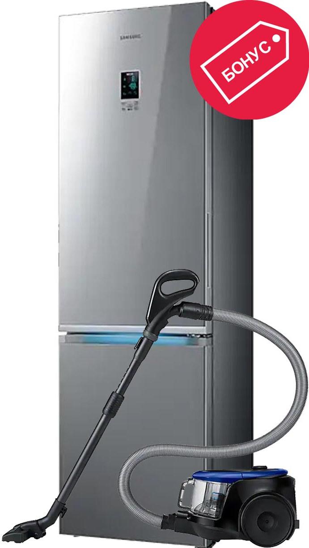 Холодильник Samsung RB37K63412A + Пылес…