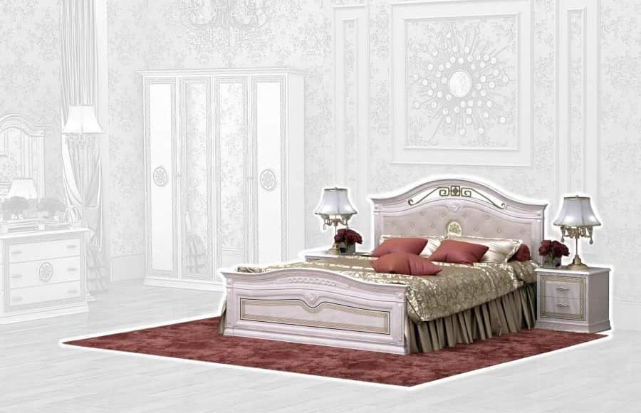 Спальня Интердизайн Версаль бежевый/бежевый (композиция 1)