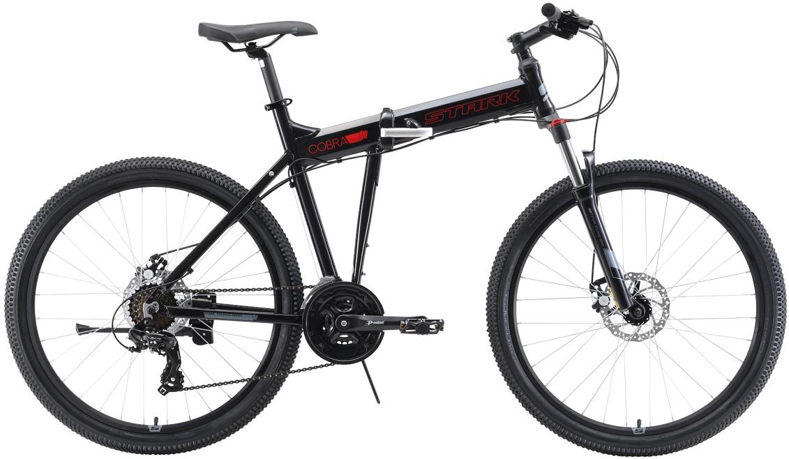 Велосипед Stark Cobra 26.2 D (2019) чёр…