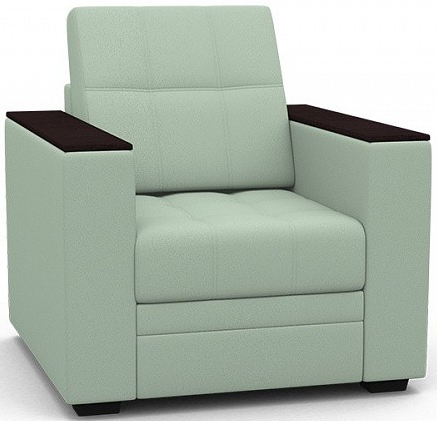 Кресло Цвет Диванов Атланта Next ментоловый 90x92x94 см