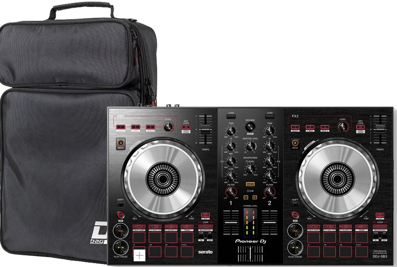 Dj-контроллер Pioneer DDJ-SB3 + DJ-Bag DJB Compact