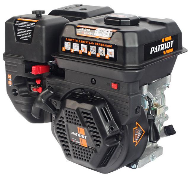 Двигатель Patriot SR210 (без катушки, 7…