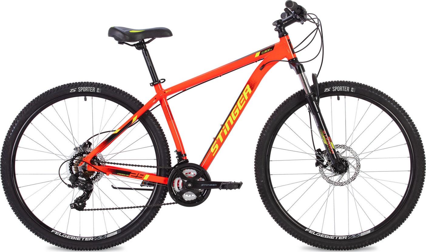 """Велосипед Stinger Element Pro 29 (2020) красный 29""""/22"""""""