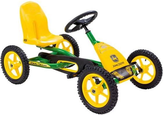 Веломобиль Berg Buddy John Deere Yellow/Green BFR