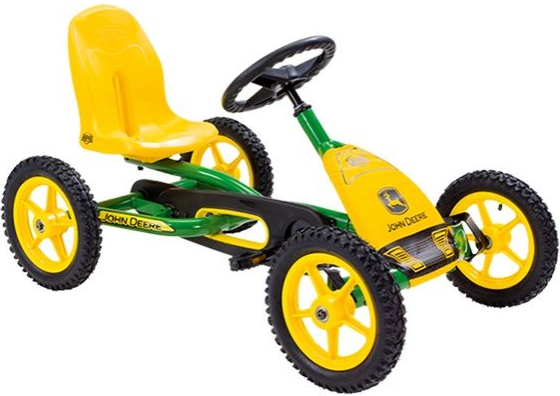 Веломобиль Berg Buddy John Deere Yellow…