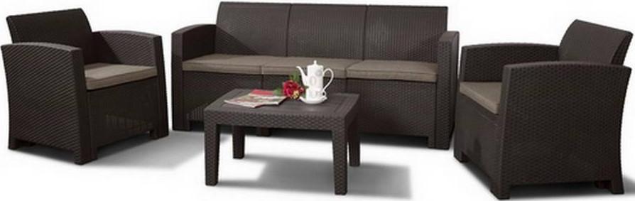 Комплект мебели Афина-Мебель AFM-5018 коричневый