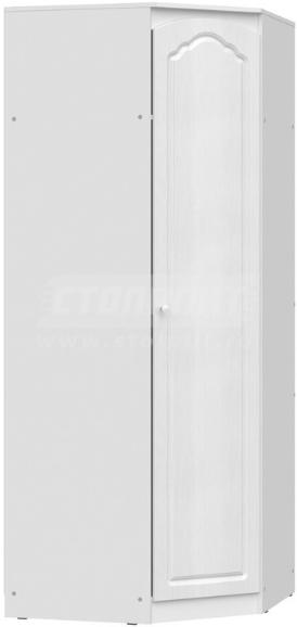 Шкаф Столплит Амалия 011-992-000-0831 угловой дуб белый 89x223x89 см