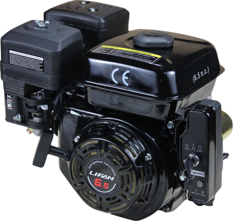 Двигатель Lifan 168F-2D (с катушкой 7A, 6.5 л.с.)
