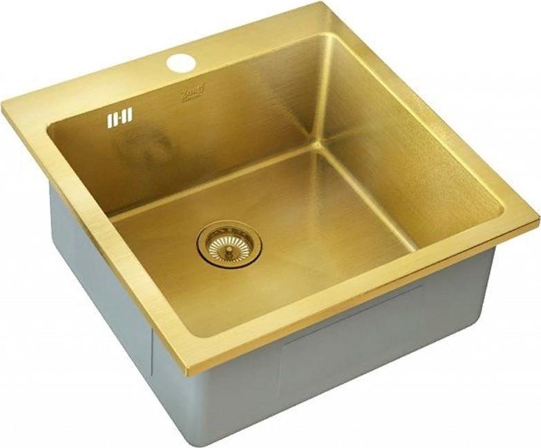 Кухонная мойка Zorg SZR-51 Bronze