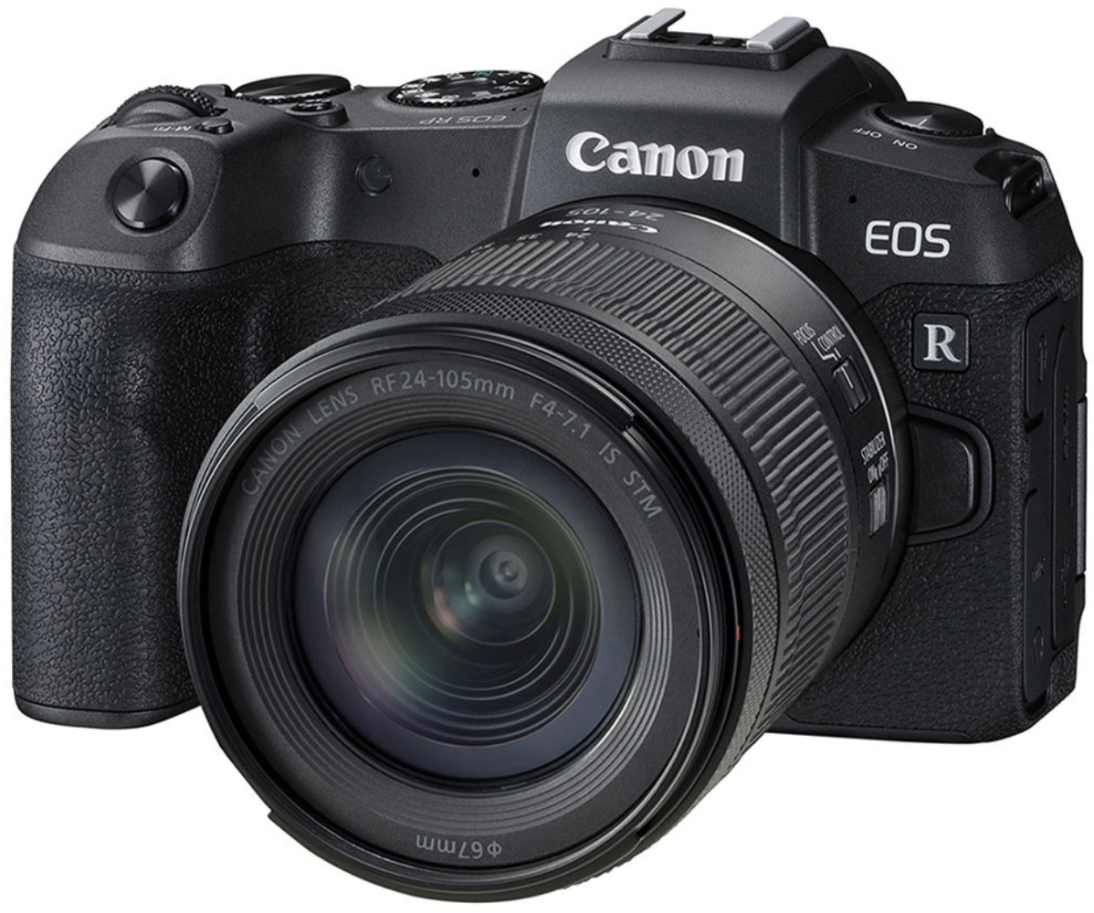 Фотоаппарат Canon EOS RP Kit RF 24-105mm f/4.0-7.1 IS STM Black