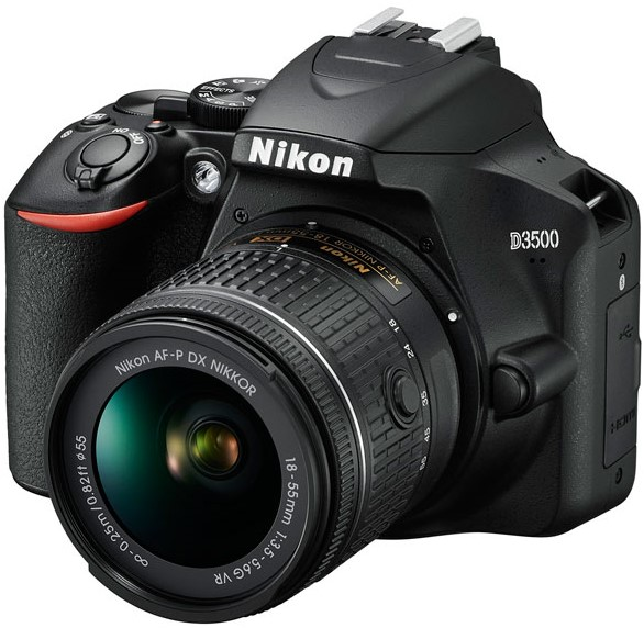Фотоаппарат Nikon D3500 Kit AF-P DX 18-…
