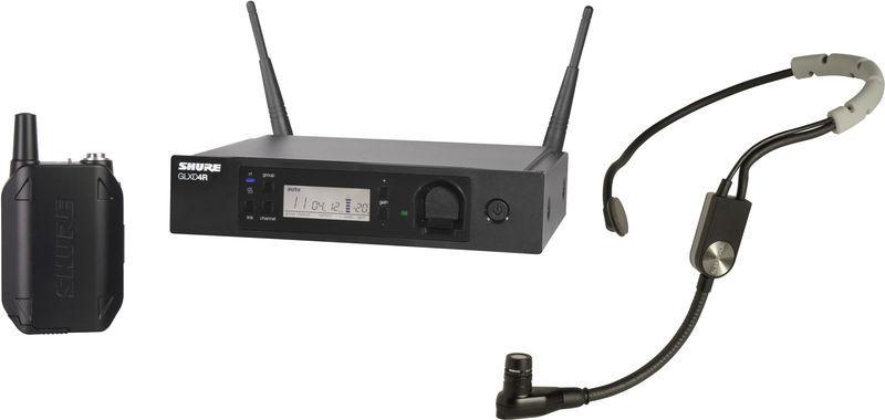 Цифровая радиосистема Shure GLXD14RE/SM35