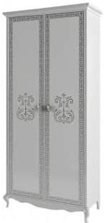 Шкаф Интердизайн Винтаж белый/белый 2143x1019x459 см