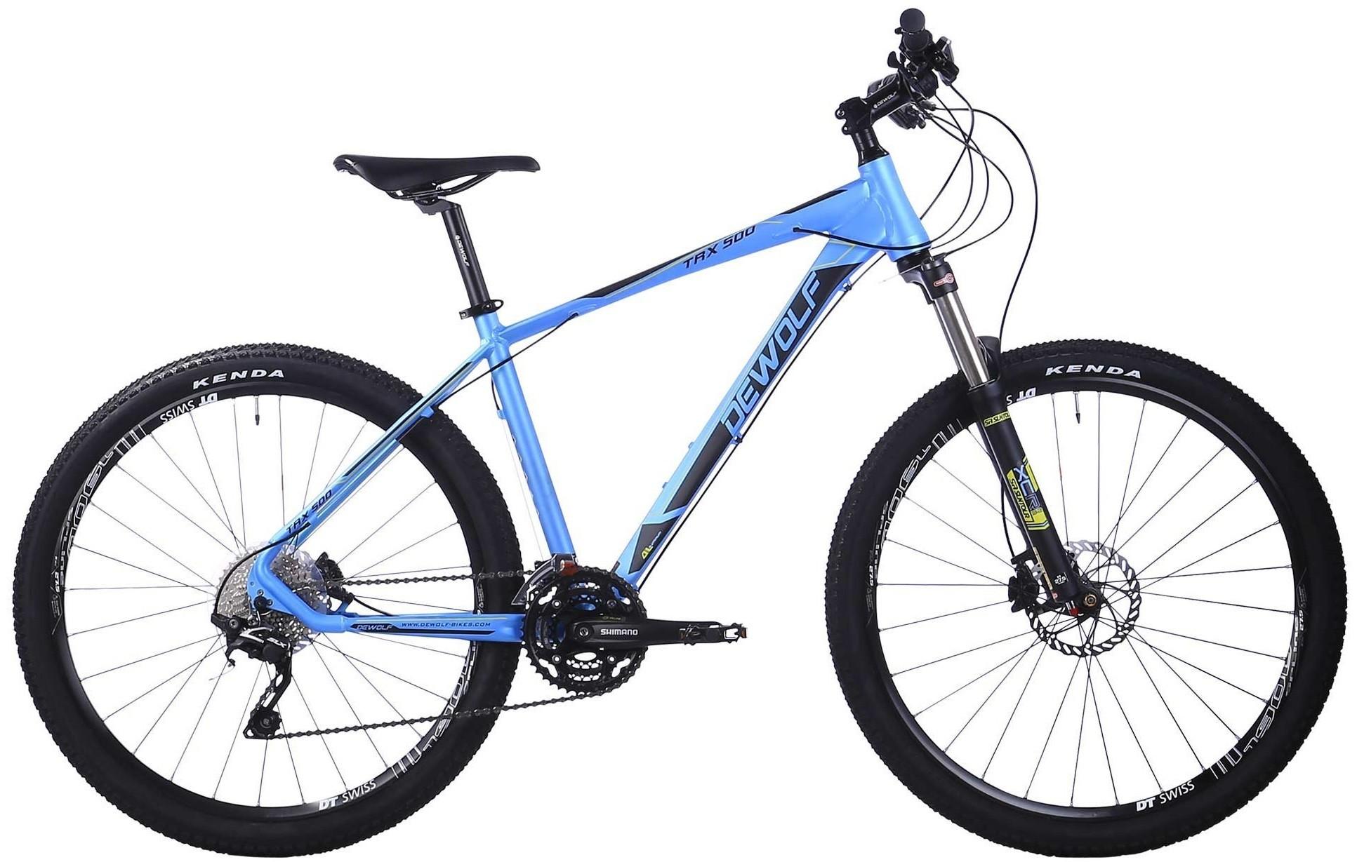 Велосипед Dewolf TRX 500 Blue/Black 27.…