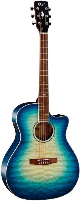 Акустическая гитара Cort GA-QF-CBB Gran…