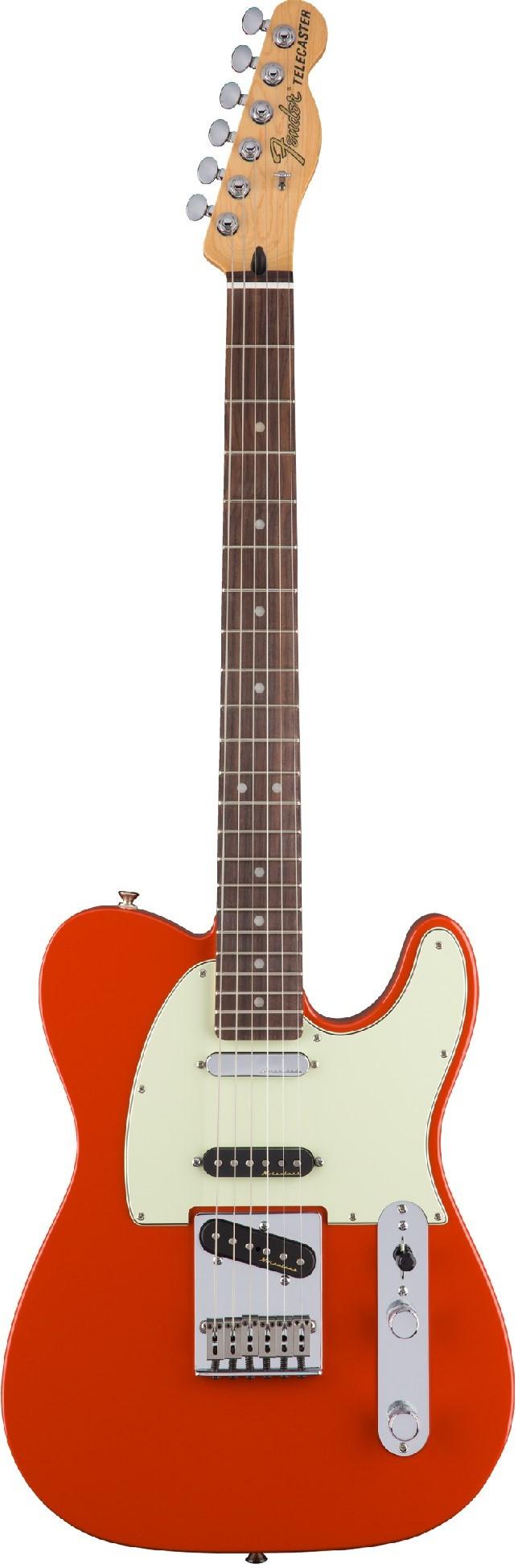 Электрогитара Fender DLX Nashville Tele PF FRD