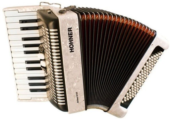 Аккордеон Hohner The New Bravo II 60 White