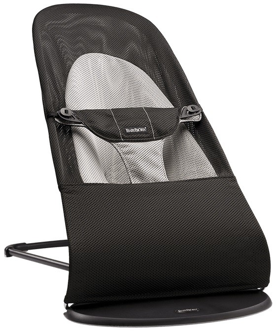 Babybjorn Balance Soft Air черный/серый