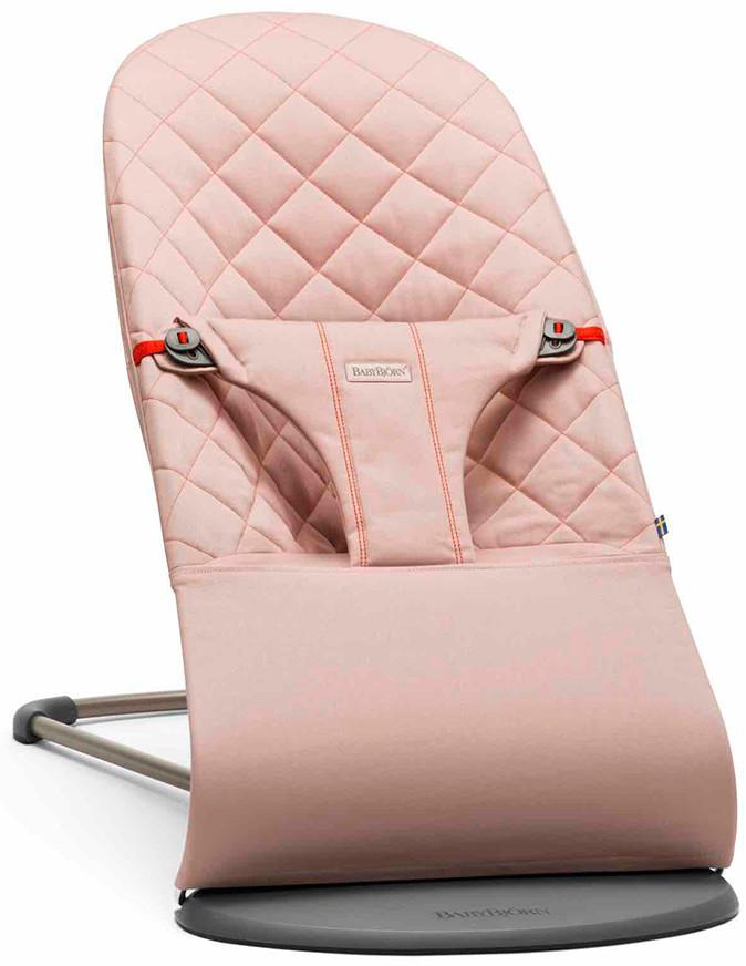 BabyBjorn Bliss Cotton розовый