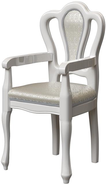 Кресло Интердизайн Роза белый/серебро 1…
