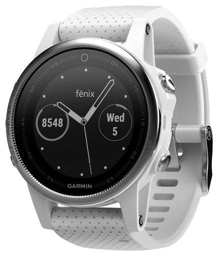 Умные часы Garmin Fenix 5S 42mm White/White