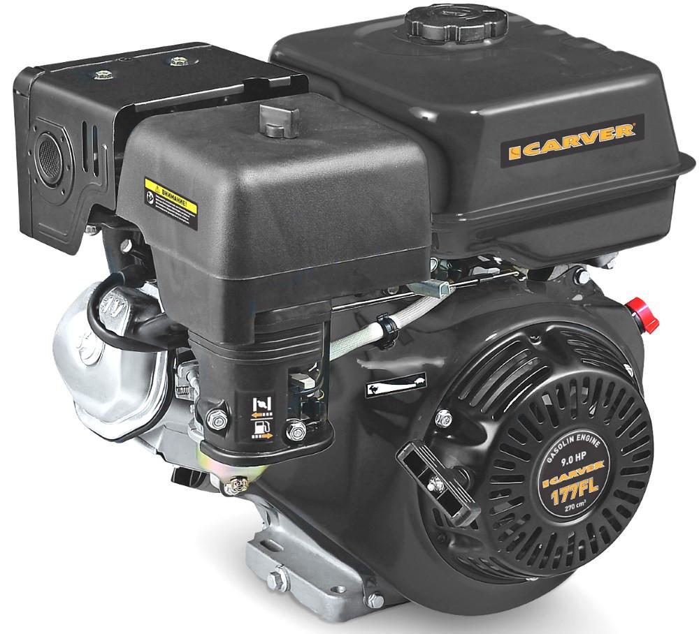 Двигатель Carver 177FL (без катушки, 6.5 л.с.)