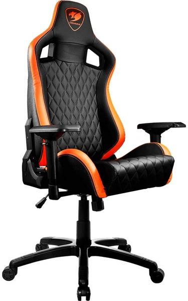 Игровое кресло Cougar Armor S черный/ор…