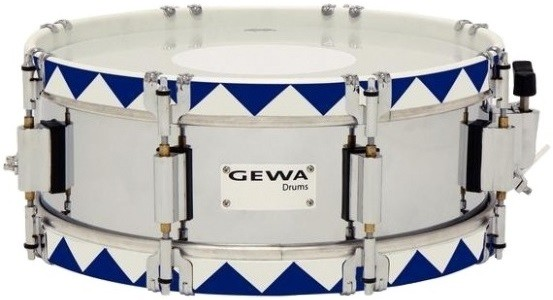 Gewa Marching Small Drum Steel Chrome H…