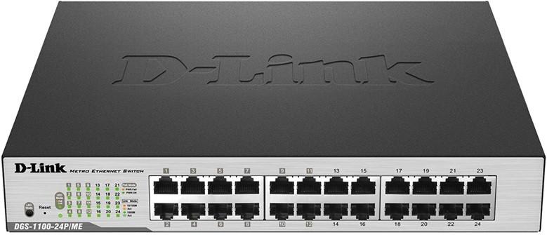 Коммутатор D-Link DGS-1100-24P/ME/B2A