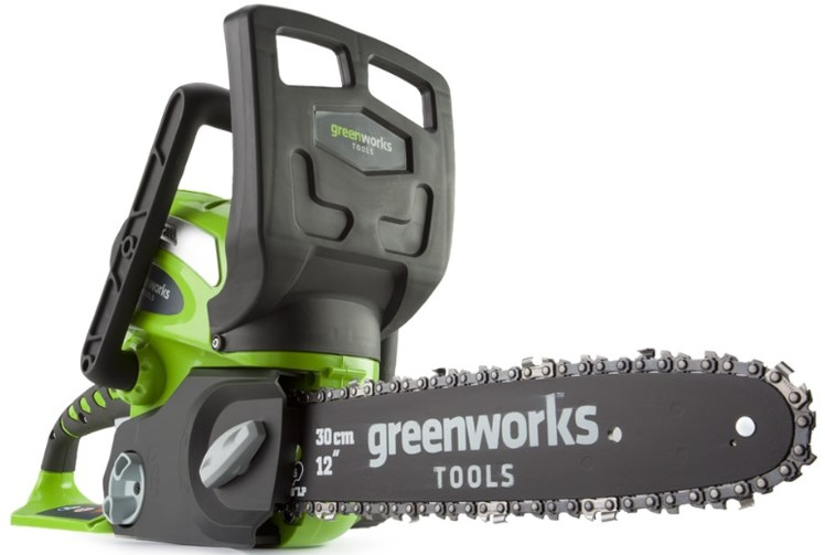 Электропила Greenworks G40CS30K2