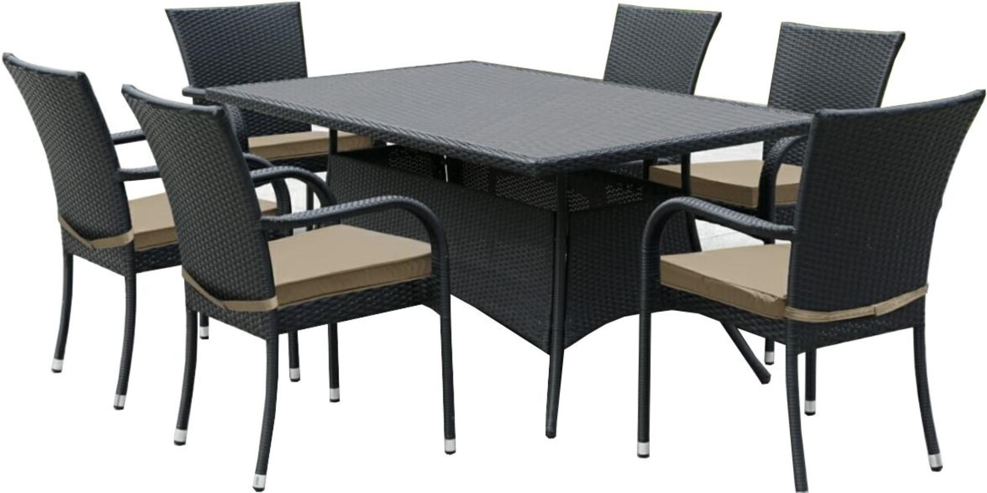 Стол Афина-Мебель AFM-170S черный