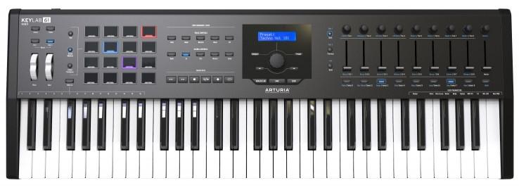 Миди-клавиатура Arturia KeyLab MkII 61 Black