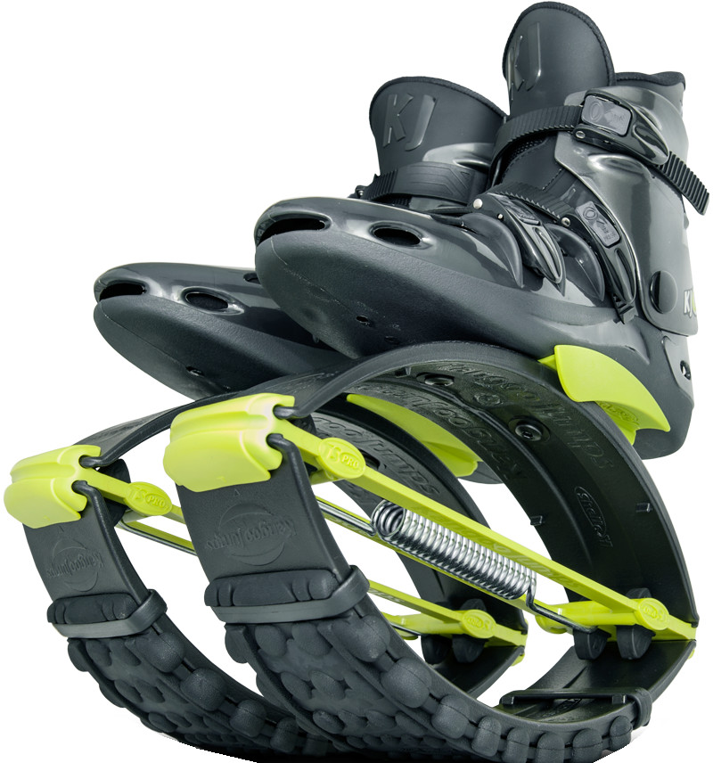 Джамперы Kangoo Jumps KJ-Pro7 Black/Yellow (размер 36-38)