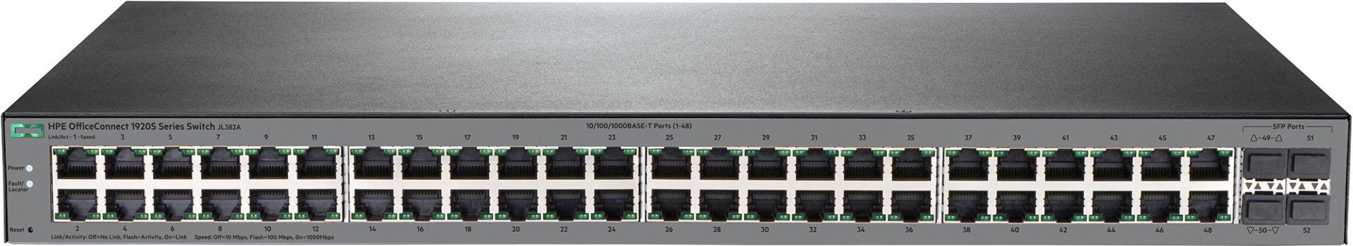 Коммутатор HP OfficeConnect 1920S 48G 4SFP