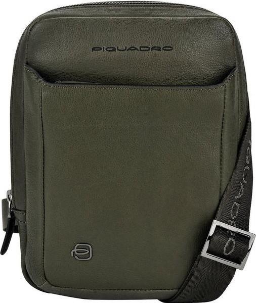 Сумка-планшет Piquadro Black Square CA3084B3/VE Green