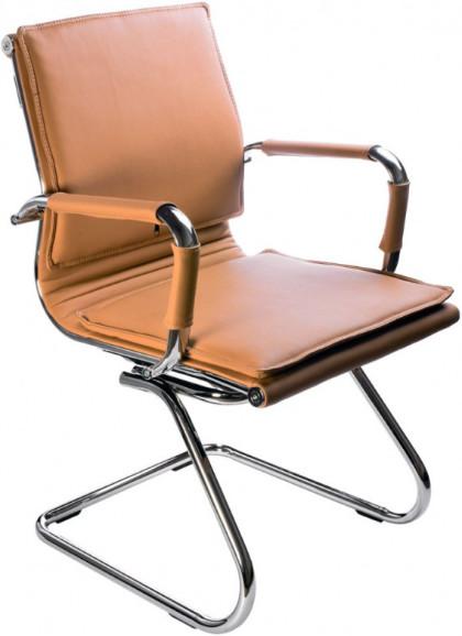Кресло посетителя Бюрократ CH-993-LOW-V/CAMEL светло-коричневый