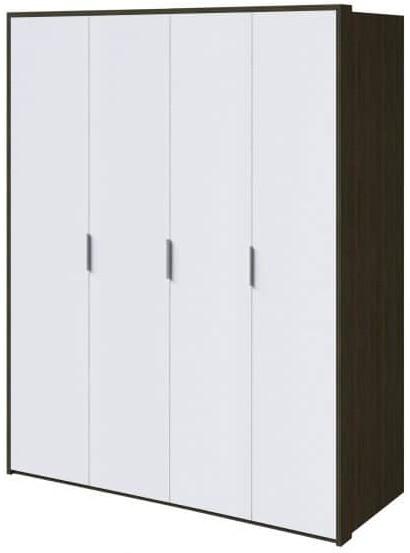 Шкаф Интердизайн Тоскано ясень темный/белый 2209x1868x599 см