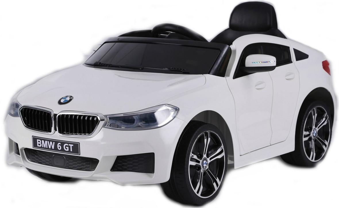 Электромобиль RiverToys BMW 6 GT JJ2164 White