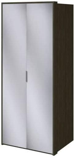 Шкаф Интердизайн Тоскано ясень темный/белый 2209x968x599 см (с зеркалами)