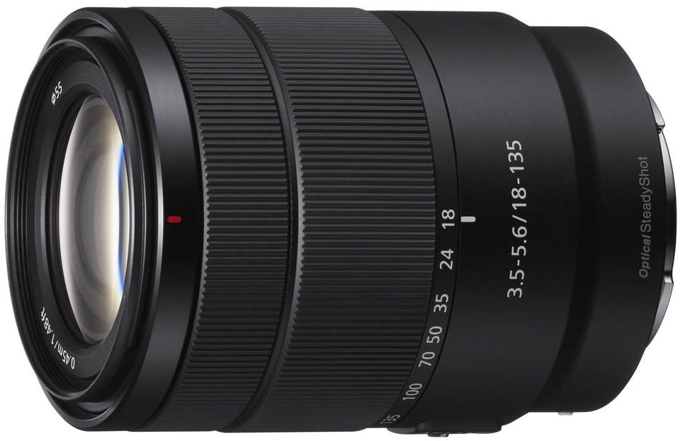 Объектив Sony E 18-135mm f/3.5-5.6 OSS Black